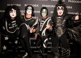 KISS makeup for Pandora executives by Fine Makeup Art & Associates