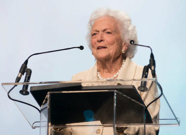 Barbara Bush photo - makeup artist: Traci Fine for Fine Makeup Art & Associates