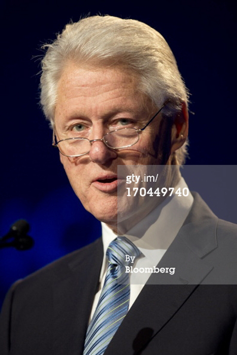 Bill Clinton photo - makeup artist: Fine Makeup Art & Associates Chicago