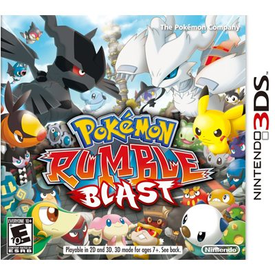 Nintendo Pokemon Rumble Blast
