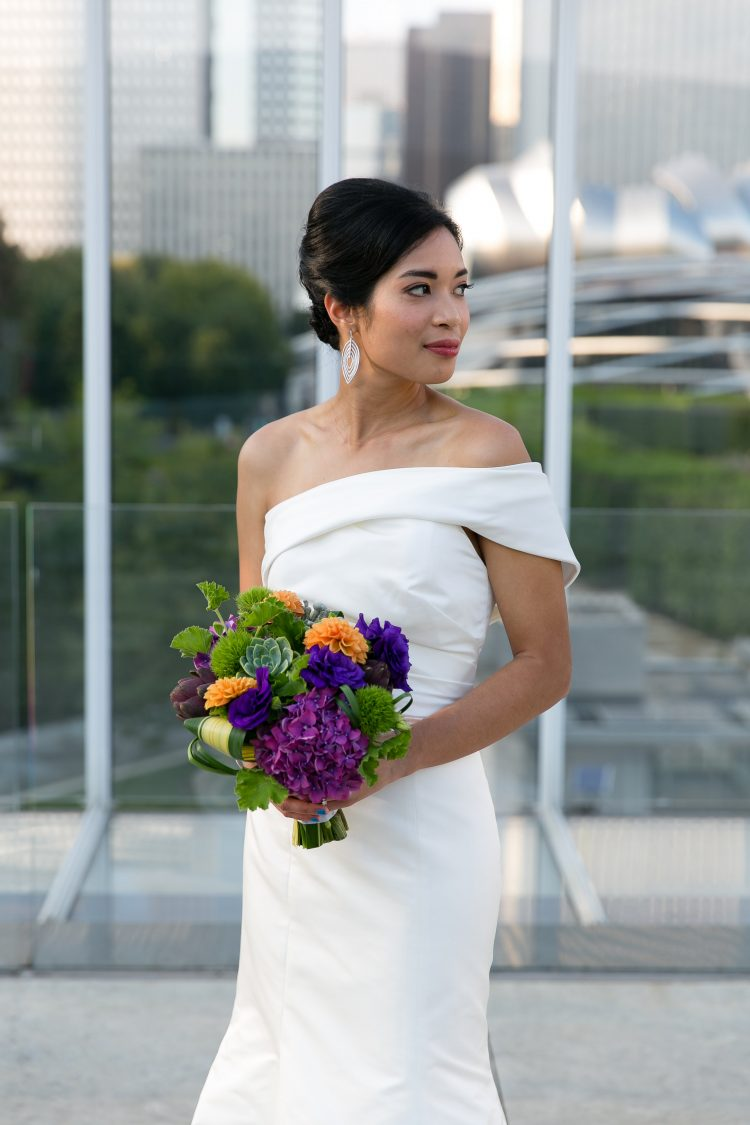 Wedding at the Art Institute Of Chicago Modern Wing