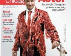 TIME OUT CHICAGO Magazine Cover - Makeup Artist: Fine Makeup Art & Associates