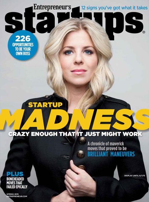 Entrepreneur Magazine Cover - Makeup Artist: Fine Makeup Art & Associates