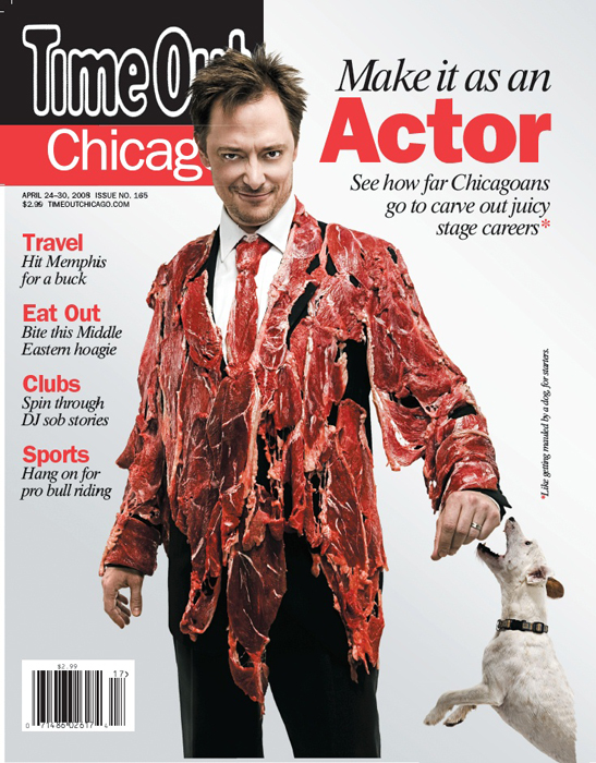 Time Out Chicago Magazine Cover