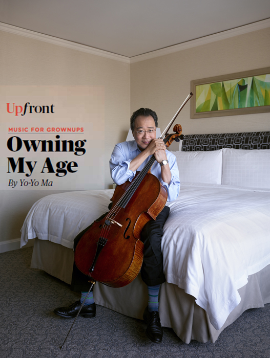 Yo Yo Ma in AARP Magazine - Makeup Artist: Fine Makeup Art & Associates