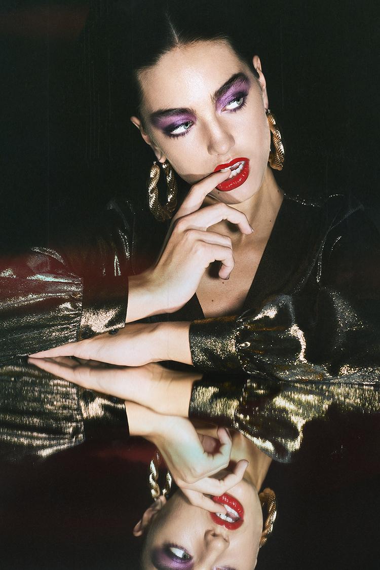 beauty and fashion makeup