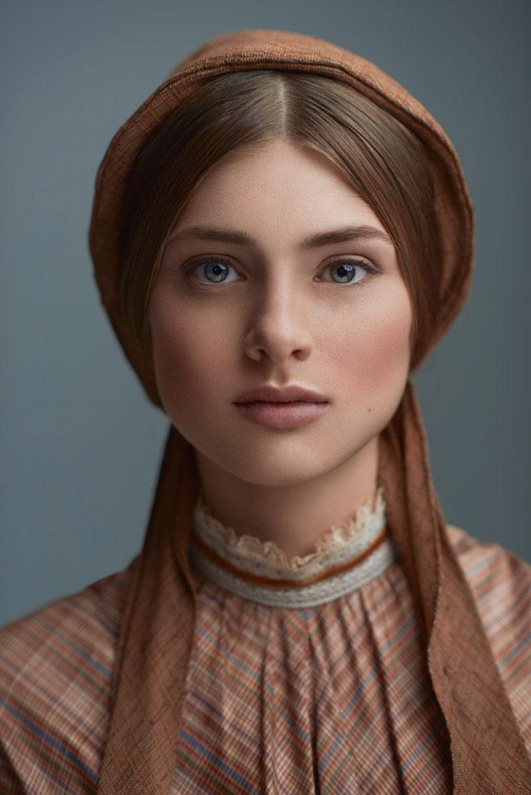 vintage makeup look